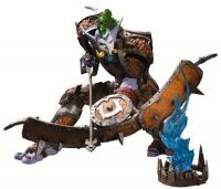 DC Unlimited: World of Warcraft: Series 3 Premium: TROLL HUNTER TAZ'DINGO Action Figure
