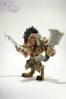 DC Unlimited: World of Warcraft: Series 1 Premium: GNOLL WARLORD: GANGRIS RIVERPAW Action Figure