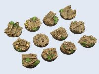 Wood Bases, Round 25mm (x5)