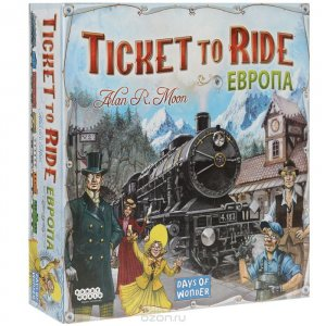Ticket to Ride: Європа (рос.)