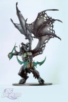 DC Unlimited: World of Warcraft: Series 5: ILLIDAN (DEMON FORM) Deluxe Collector Figure