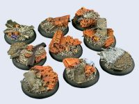 Old Factory Bases WRound 30mm (x5)