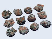 Trash Bases, Round 25mm (x5)