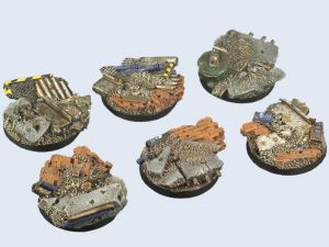 Old Factory Bases Round 40mm (x2) ― HobbyWorld