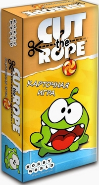 Cut The Rope. Card game