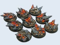 Chaos Bases WRound 30mm (x5)