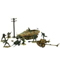 1:72 German Sd. Kfz. 251/1 and 75mm PaK 40