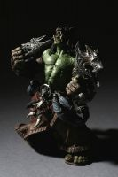 DC Unlimited: World of Warcraft: Series 1: ORC SHAMAN: REHGAR EARTHFURY Collector Figure