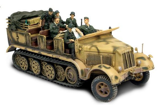 GERMAN SD. KFZ. 7 HALF-TRACK Forces of Valor Форс оф ...