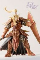 DC Unlimited: World of Warcraft: Series 3: BLOOD ELF PALADIN: QUIN'THALAN SUNFIRE Action Figure