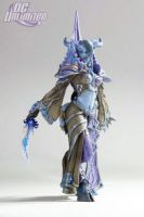 DC Unlimited: World of Warcraft: Series 3: DRANEI MAGE: TAMUURA Action Figure
