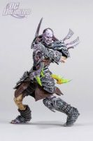 DC Unlimited: World of Warcraft: Series 3: UNDEAD ROGUE: SKEEVE SORROWBLADE Action Figure