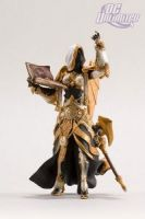 DC Unlimited: World of Warcraft: Series 3: HUMAN PRIESTESS: SISTER BENEDRON Action Figure