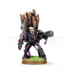 Chaos Space Marine Emperor's Children Lord (Collectors)