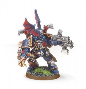 Chaos Space Marines Night Lords Hero (Collectors)