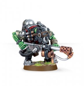 Ork Kommando with Burna