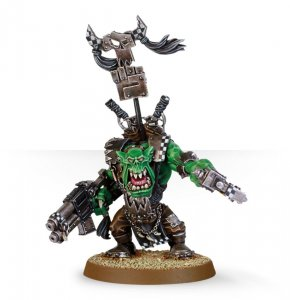 Ork Warboss with Big Choppa (Collectors)