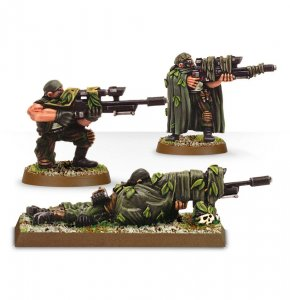 Imperial Guard Catachan Snipers (Collectors)