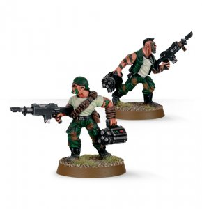 Imperial Guard Catachan Demolition Team (Collectors)