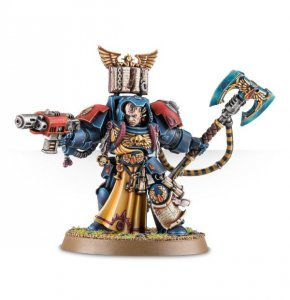 Blood Angels Librarian in Terminator Armour
