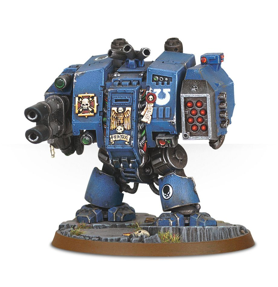 General Warhammer 40k Space Marines: Space Marine Dreadnought ― HobbyWorld