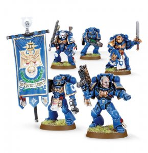 Space Marine Command Squad