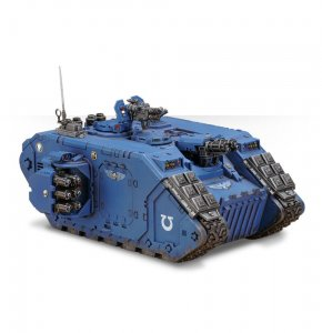 Space Marine Land Raider Crusader