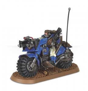 Space Marine Scout Bike