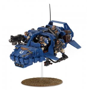 Space Marine Land Speeder Storm