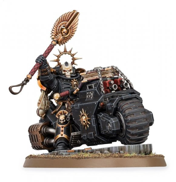 Primaris Chaplain on Bike ― HobbyWorld