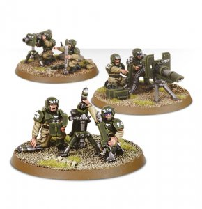 Imperial Guard Cadian Heavy Weapon Squad