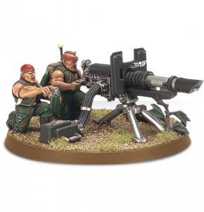 Imperial Guard Catachan Heavy Weapon Squad