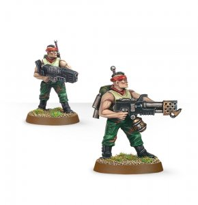 Imperial Guard Catachan Command Squad