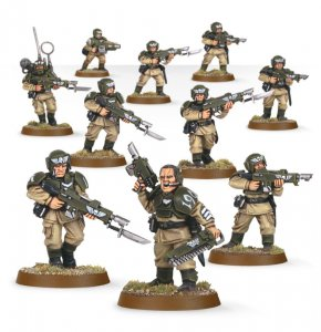 Imperial Guard Cadian Shock Troops