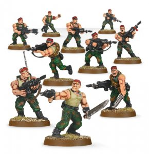 Imperial Guard Catachan Jungle Fighters