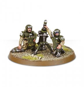 Imperial Guard Cadian Heavy Weapons Team