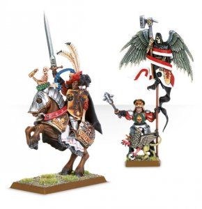 Empire General and Battle Standard Bearer