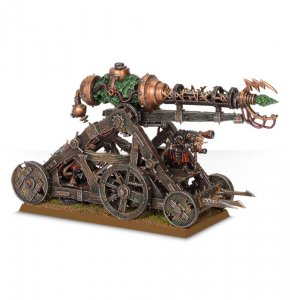 Skaven Warp Lightning Cannon / Plagueclaw Catapult