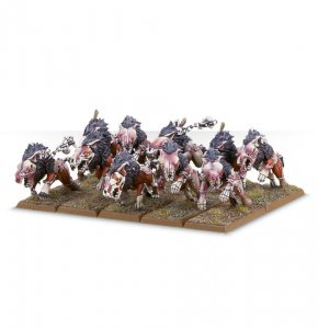 Vampire Counts Dire Wolves