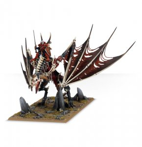 Vampire Lord on Zombie Dragon / Terrorgheist