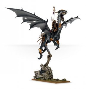 Dark Elf Dreadlord on Black Dragon