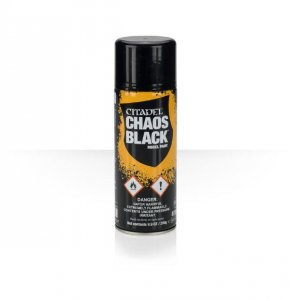 Citadel Spray: Chaos Black 400ml