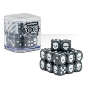 Games Workshop: Dice Cube - Grey