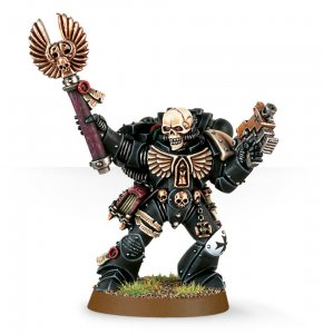 Space Marine Chaplain with Skull Helmet