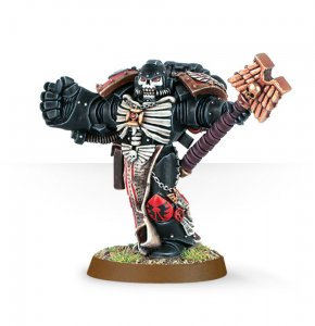 Space Marine Chaplain with Crozius and Power Fist
