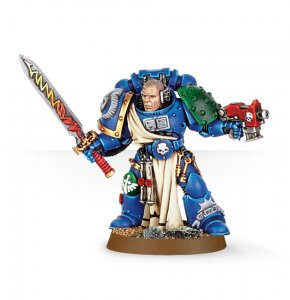 Space Marine Librarian with Sword and Bolt Pistol