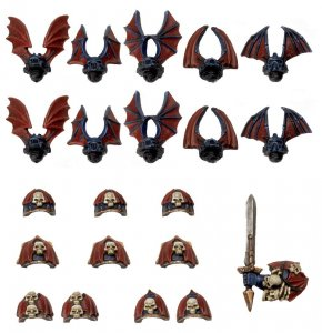 Chaos Space Marines Night Lords Conversion Pack