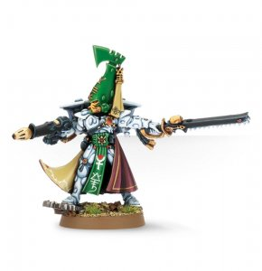 Eldar Autarch with Fusion Gun