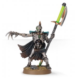 Necron Lord with Warscythe