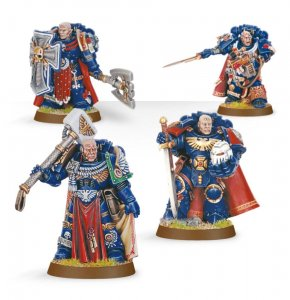 Space Marine Chapter Masters